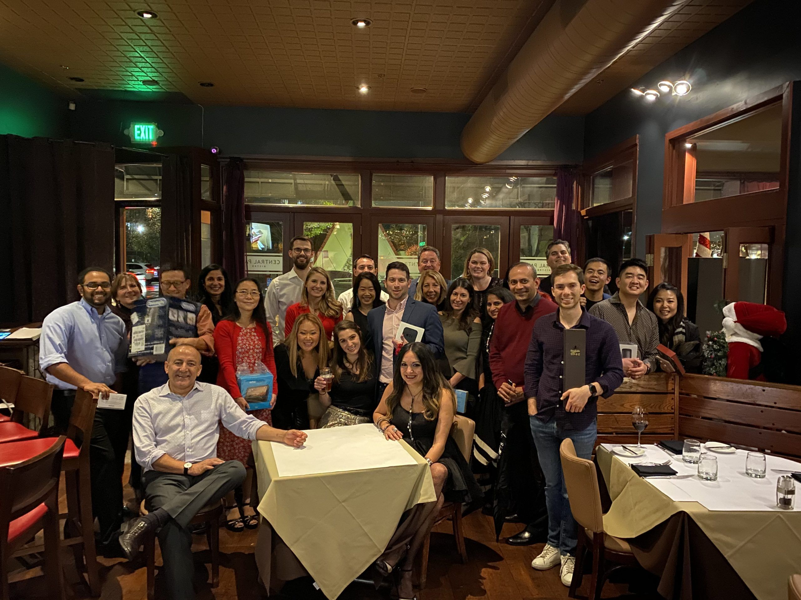 Sierra Ventures Team at the 2019 Holiday Party