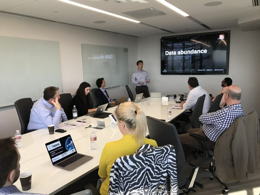 UK-based Cybersecurity Entrepreneurs visit Sierra Ventures