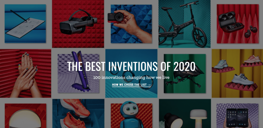 Krisp on Time's Best Inventions of 2020 List