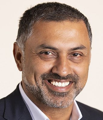 Nikesh Arora, Chairman and CEO, Palo Alto Networks - Cropped