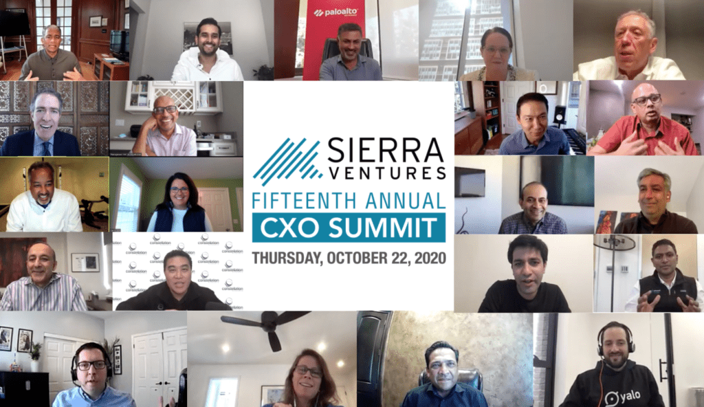 Sierra Ventures 15th Annual CXO Summit